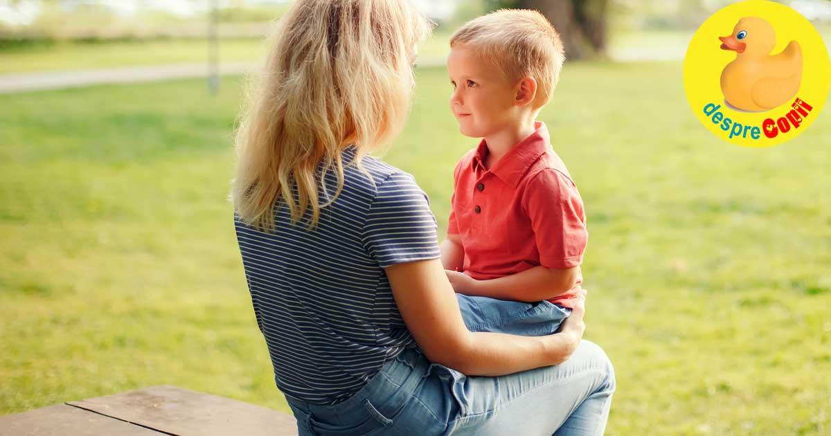 Baiatul mamei: de ce e bine sa iti cresti asa baiatul