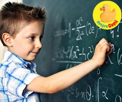 Sunt baietii mai buni la matematica?