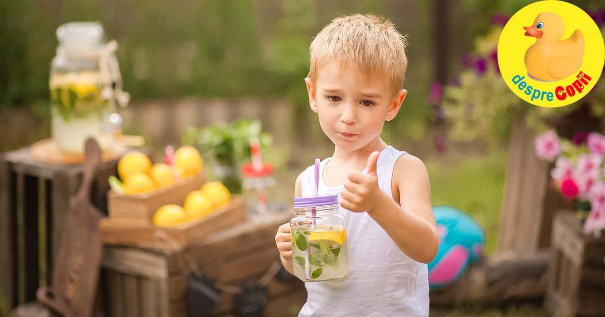 Bauturi racoritoare pentru copii: 10 retete pe care si adultii le adora
