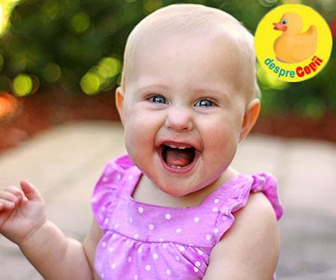 Bebelusul la 10-11 luni: ce stie sa faca