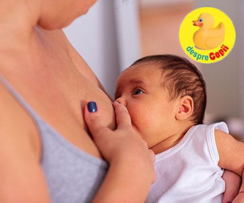 Din fricile mamicilor de bebelusi: oare am suficient lapte sau imi infometez bebelusul?