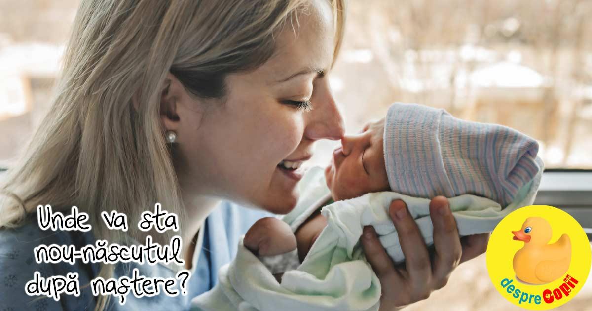Decizii importante de luat pentru copil inainte de nastere:unde va sta nou-nascutul dupa nastere?