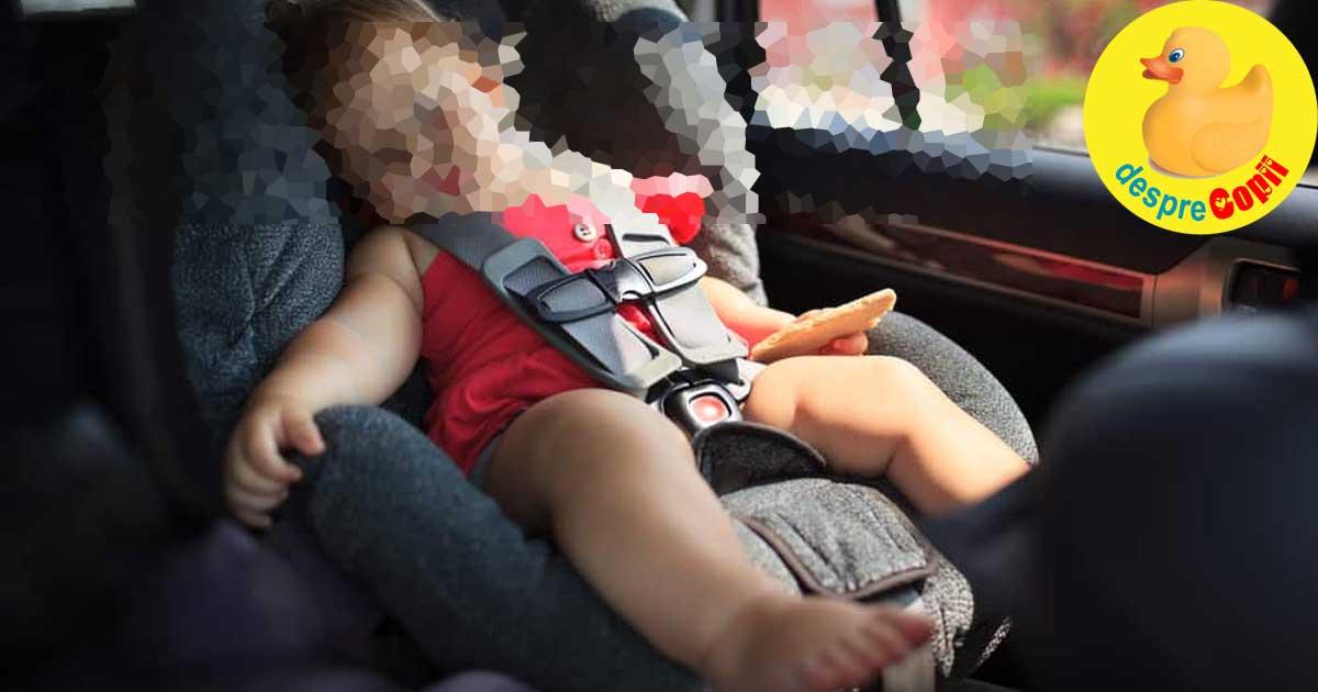 Bebelusul meu a murit de caldura in masina. Ziua in care creierul m-a tradat.