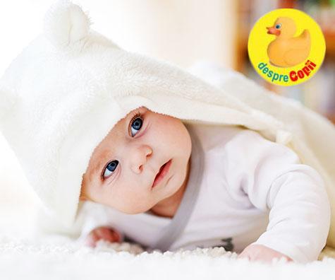 Iata cand se schimba culoarea ochisorilor la bebelusi