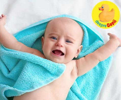 Ce trebuie sa stii daca bebelusul tau are pielea uscata