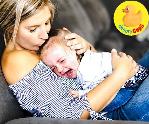 Cum raspundem la plansul bebelusului: parerile psihologilor
