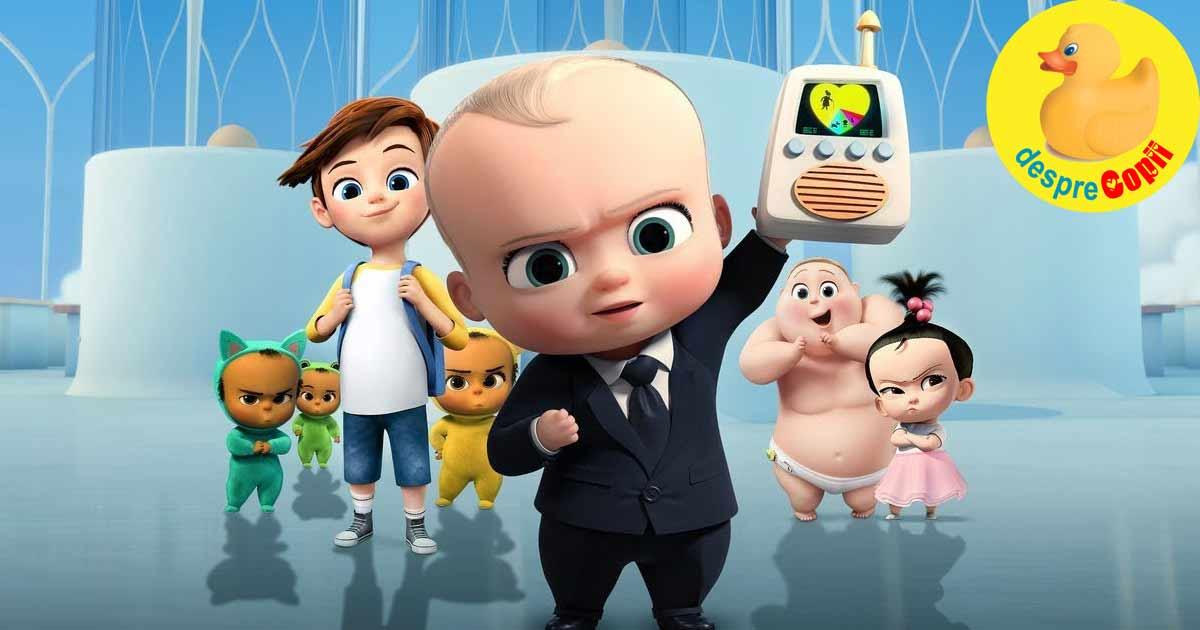 Minimax va difuza un nou serial animat - Bebe Sef: Inapoi la treaba