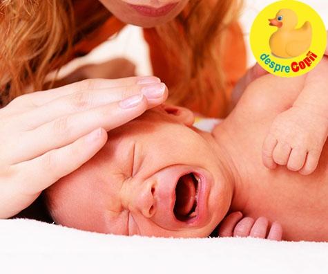 Bebelusul este agitat si nervos: 5 modalitati de a-l calma