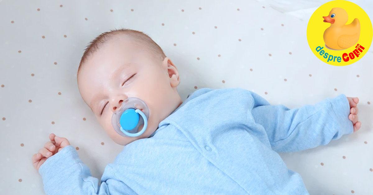 De ce nu e bine ca bebelusii baieti sa foloseasca suzeta - problemele care pot afecta dezvoltarea emotionala