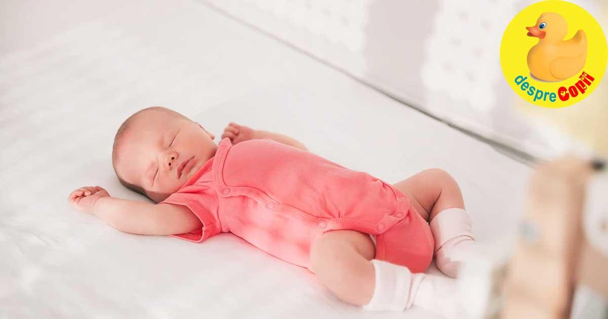 Pastreaza-ti bebelusul confortabil in canicula verii cu aceste sfaturi. Supraincalzirea bebelusului este un pericol pentru sanatatea sa.