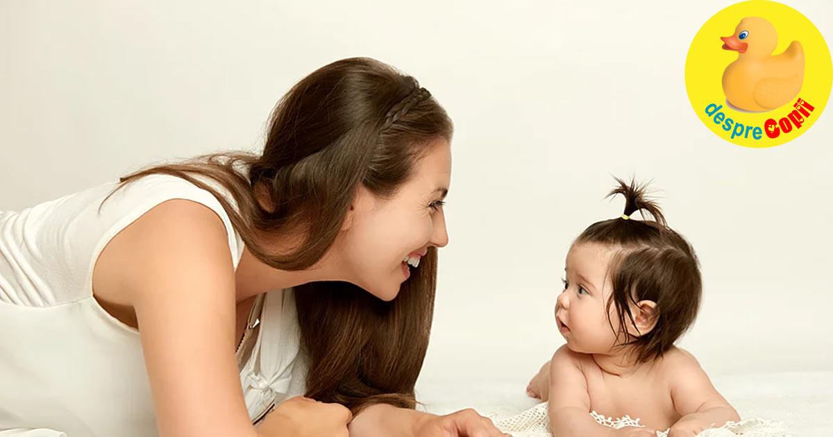 Bebelusii invata sa vorbeasca citind pe buze ce spun cei din jurul sau