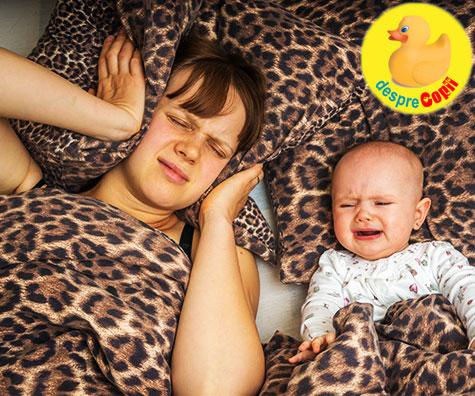 Bebelusul este obosit si ca atare trebuie sa stii cum sa�