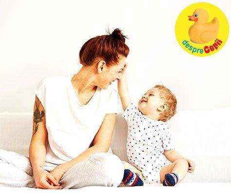 Copilul in primul an de viata: cand si cum este bine sa trasam limite