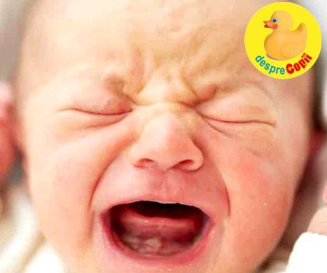 Bebelusii plangaciosi si cu probleme de somn ar putea avea un risc de ADHD