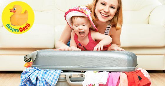 Cum ne pregatim sa mergem cu bebelusul in vacanta?