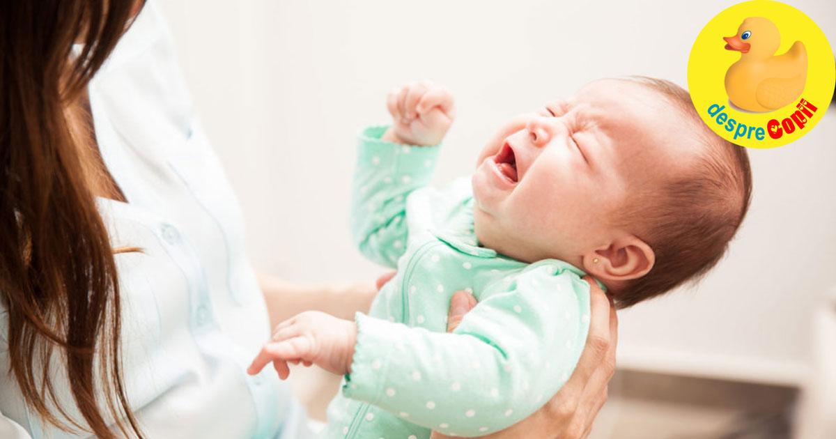 Bebelusul nu se opreste din plans? Atentie - zgaltairea bebelusului ii poate produce o trauma la creier care poate fi fatala