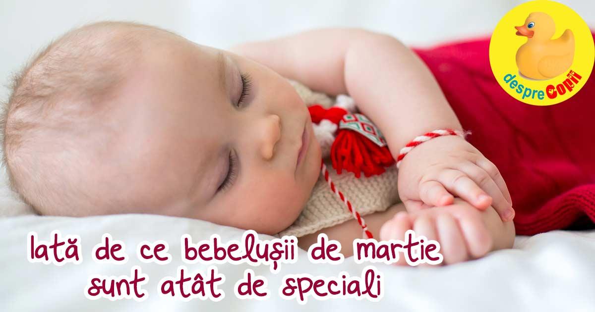 6 motive pentru care bebelusii nascuti in Martie sunt speciali