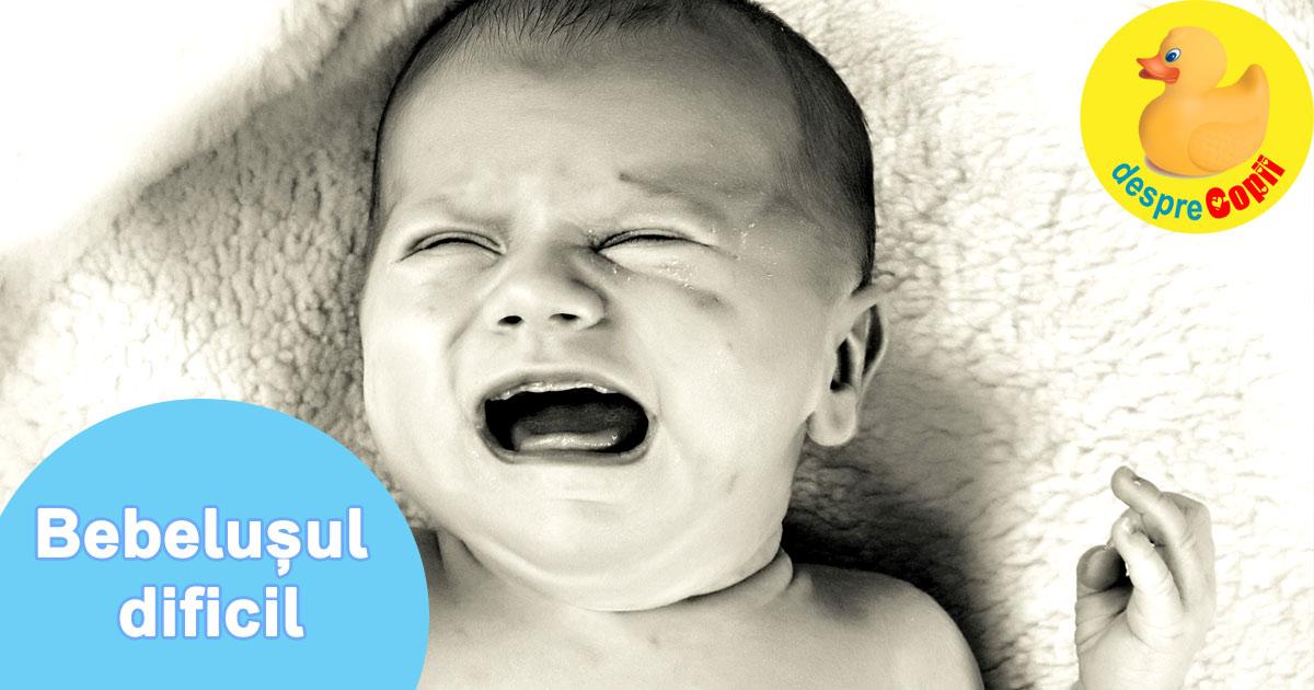 Bebelusul dificil. Daca bebelusul plange mult e posibil sa fie un bebe foarte senzitiv - iata cum trebuie procedat