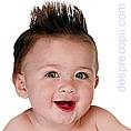 Parul bebelusului: O frizura pentru bebe...