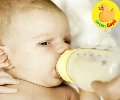 Bebelusii hraniti cu biberonul inghit milioane de microparticule de plastic pe zi - alerta de sanatate majora