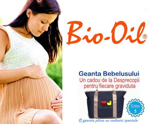 Bio-Oil alaturi de gravidute la Geanta Bebelusului 5