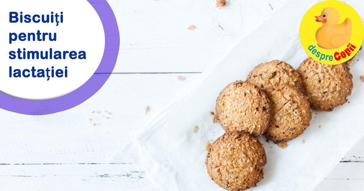 Biscuitii pentru stimularea lactatiei - iata cum functioneaza si cum se fac