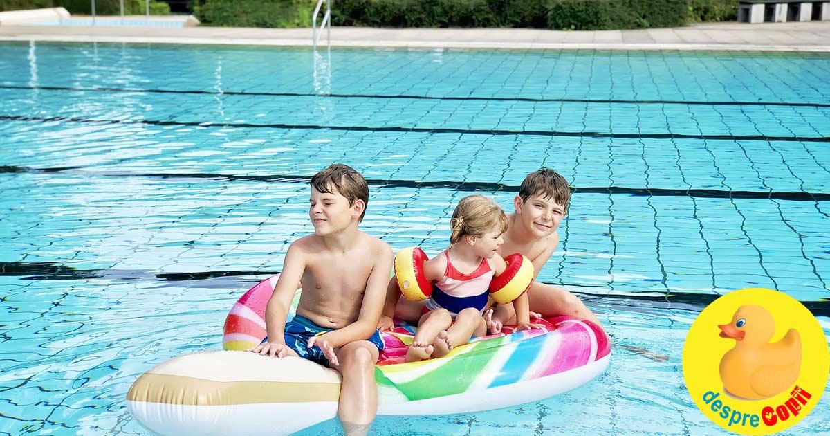 Bolile pe care le putem lua de la piscina - iata cum ne putem proteja
