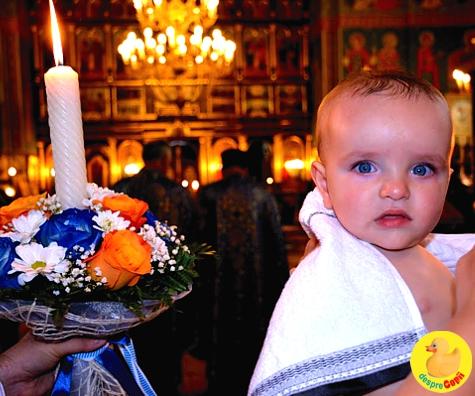 Botezul bebelusului pas cu pas