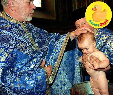 Botez in rit ortodox: traditii si detalii de ritual