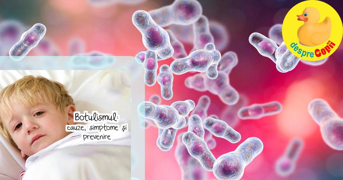 Botulismul: cauze, simptome, tratament si prevenire