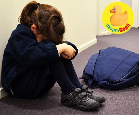 In Romania, 1 din 3 copii este umilit sau hartuit in fata colegilor