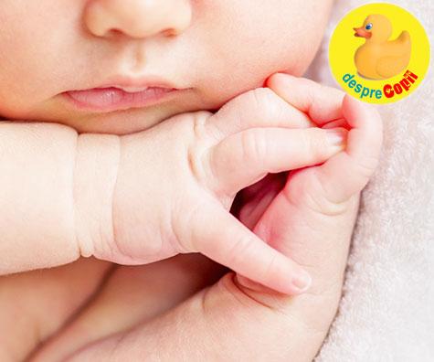 Cum tratam buzele uscate si crapate ale bebelusului si ce pot semnala
