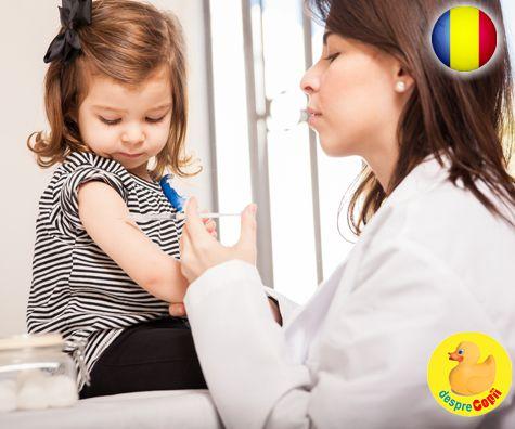 Schema vaccinurilor in 2018: calendarul de imunizare a copiilor in Romania