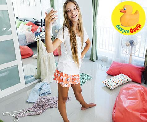 Camera copilului tau adolescent: intre realitate, reguli, dezordine si decorare
