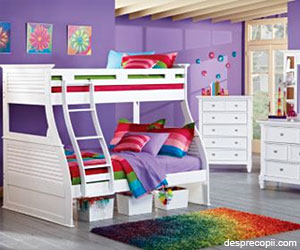 Cum transformam camera copilului in camera pentru 2 copii