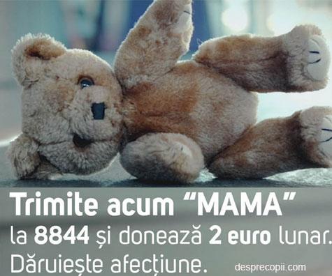 SOS Satele Copiilor Romania si campania Daruieste afectiune
