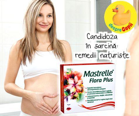 Candidoza in sarcina: remedii naturiste