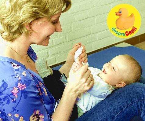 Cand bebelusul are capul turtit si o portiune fara par in spatele capusorului