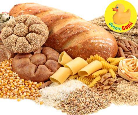 Rolul carbohidratilor in alimentatia din timpul sarcinii
