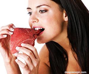 Carnea rosie poate afecta sanatatea inimii
