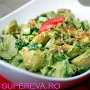Salata de cartofi si guacamole