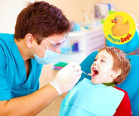Cat de des trebuie sa mergem cu copilul la medicul dentist