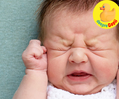 Cat timp putem lasa un bebelus sa planga? Iata stadiile in functie de varsta bebelusului - sfatul medicului pediatru