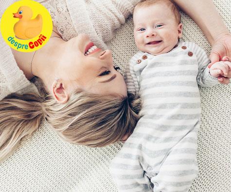 Cat mananca bebelusul de 2 luni?