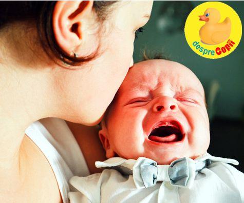 Cauzele colicilor la bebelusi si ce putem face pentru a-i ajuta (P)