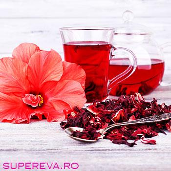 Beneficiile ceaiului de hibiscus