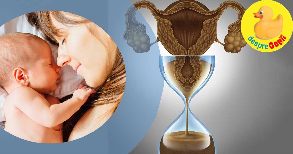 Femeile nu pot da inapoi ceasul biologic. Iata de ce nu trebuie sa amanam momentul in care devenim mame