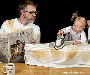 Fetita celui mai haios tatic fotograf a mai crescut
