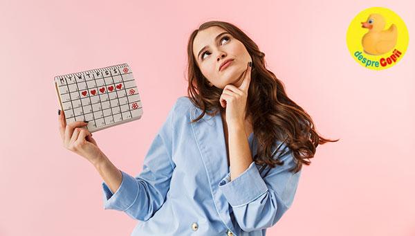 Iata ce spune durata ciclului menstrual despre sansele tale de a ramane insarcinata