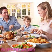 Masa in familie aduce fericire copiilor